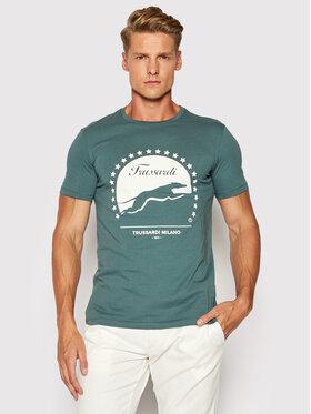 Trussardi Trussardi T-Shirt Pure 52T00449 Grün Regular Fit