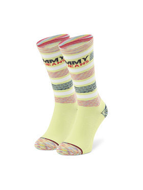 Tommy Jeans Tommy Jeans Hohe Unisex-Socken 100002404 Gelb