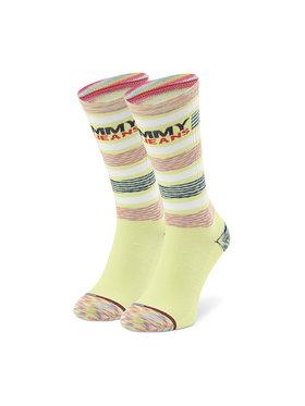 Tommy Jeans Tommy Jeans Klasické ponožky Unisex 100002404 Žlutá