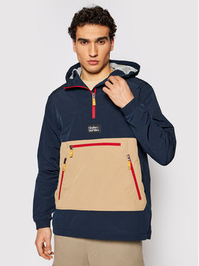 Didriksons Didriksons Anorak stiliaus striukė Vilmer 503654 Tamsiai mėlyna Relaxed Fit
