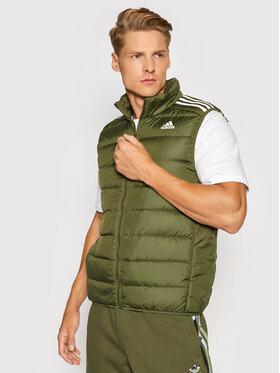 adidas adidas Vestă Essentials GT9130 Verde Slim Fit