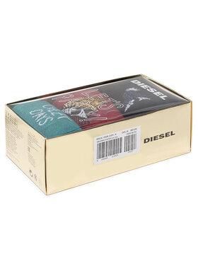 Diesel Diesel Unisex ilgų kojinių komplektas (3 poros) Skm Hermine 00SK3A 0TAXB E5095 Spalvota