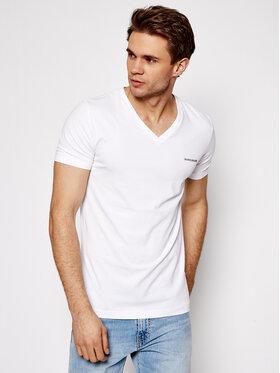 Calvin Klein Jeans Calvin Klein Jeans Póló J30J318068 Fehér Regular Fit