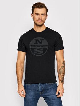 North Sails North Sails T-Shirt 692752 Černá Regular Fit