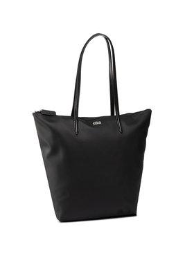 Lacoste Lacoste Дамска чанта Vertical Shopping Bag NF1890PO Черен