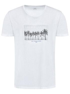 Lee Lee T-Shirt Picture L60ZFERR Biały Regular Fit