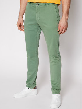 Joop! Jeans Joop! Jeans Kalhoty z materiálu 15 Jjf-19Steen-D 30023721 Zelená Slim Fit