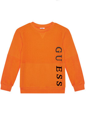 Guess Guess Džemperis L1RQ09 KA6R0 Oranžinė Regular Fit