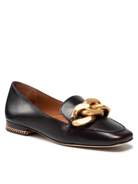 Tory Burch Tory Burch Loaferice Ruby Chain Loafer 86600 Smeđa
