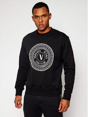Versace Jeans Couture Versace Jeans Couture Суитшърт B7GWA7TT Черен Regular Fit