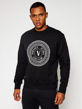 Versace Jeans Couture Versace Jeans Couture Sweatshirt B7GWA7TT Schwarz Regular Fit