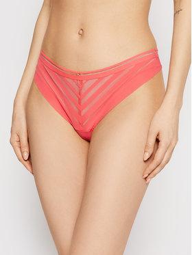 Passionata Passionata Brazilské kalhotky Graphic P78470 Růžová