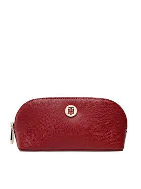 Tommy Hilfiger Tommy Hilfiger Pochette per cosmetici Honey Make Up Bag AW0AW10534 Bordeaux
