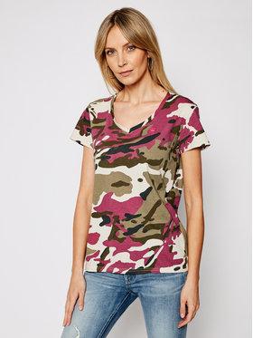 G-Star Raw G-Star Raw T-shirt Allover Camo Print D19231-C721-C374 Multicolore Regular Fit