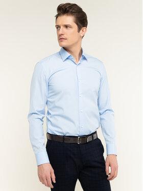 Boss Boss Košeľa Joram 50427552 Modrá Slim Fit