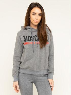 MOSCHINO Underwear & Swim MOSCHINO Underwear & Swim Bluza A1711 9001 Szary Regular Fit