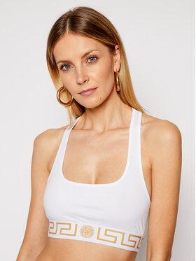 Versace Versace Biustonosz top Donna AUD01039 Biały
