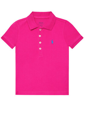 Polo Ralph Lauren Polo Ralph Lauren Polo marškinėliai Ss Polo 311698589089 Rožinė Regular Fit