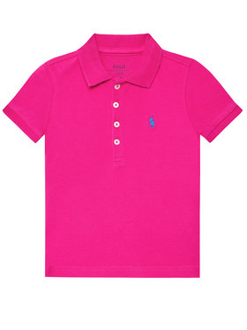 Polo Ralph Lauren Polo Ralph Lauren Polokošeľa Ss Polo 311698589089 Ružová Regular Fit