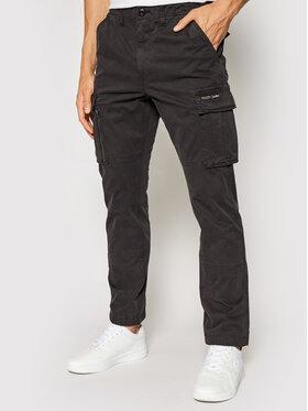 Superdry Superdry Pantalon en tissu Recruit Grip 2.0 M7010186A Gris Regular Fit