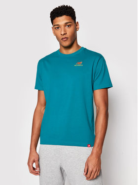 New Balance New Balance T-shirt Essentials Embroidered Tee MT11592 Vert Relaxed Fit