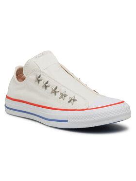 Converse Converse Plátěnky Ctas Teen Slip 564971C Bílá