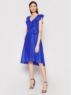 DKNY DKNY Kokteilinė suknelė DD0DM414 Tamsiai mėlyna Regular Fit