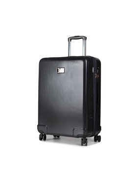 Puccini Puccini Közepes keményfedelű bőrönd Panama PC029B 8 Fekete