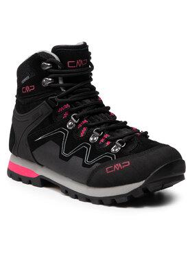 CMP CMP Трекінгові черевики Athunis Mid Wmn Trekking Shoe Wp 31Q4976 Чорний