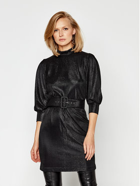 Marella Marella Koktel haljina Nadar1 36260406 Crna Regular Fit
