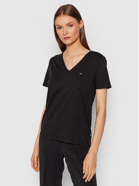 Calvin Klein Calvin Klein Tričko Small Logo K20K203085 Čierna Regular Fit