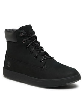 Timberland Timberland Μποτίνια Davis Square 6 In Side Zip TB0A1UWS001 Μαύρο