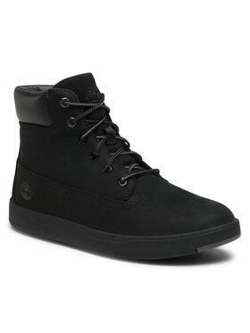 Timberland Timberland Обувки Davis Square 6 In Side Zip TB0A1UWS001 Черен