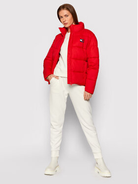 Tommy Jeans Tommy Jeans Giubbotto piumino Tjw Modern DW0DW11623 Rosso Regular Fit