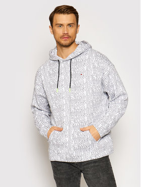 Tommy Jeans Tommy Jeans Bluză DM0DM10204 Alb Relaxed Fit