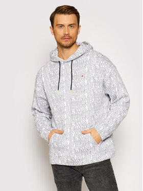 Tommy Jeans Tommy Jeans Sweatshirt DM0DM10204 Weiß Relaxed Fit