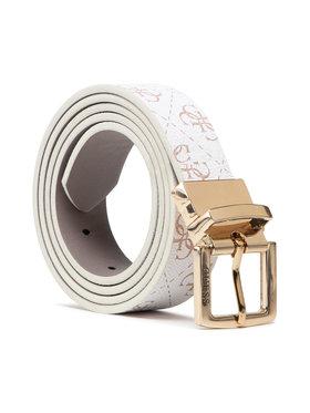 Guess Guess Moteriškas Diržas Washington Belts BW7502 VIN30 Balta