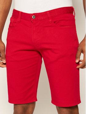 Emporio Armani Emporio Armani Szorty jeansowe 3H1PA6 1N4ZZ 0361 Czerwony Regular Fit