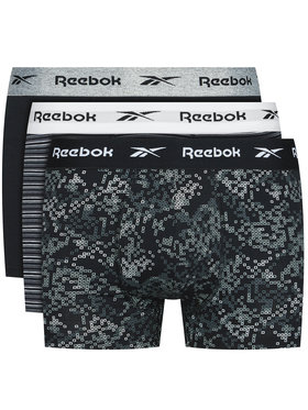 Reebok Reebok Комплект 3 чифта боксерки Cassel F8330 Цветен