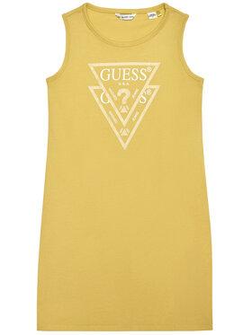 Guess Guess Každodenné šaty K92K31 K82F0 Žltá Regular Fit