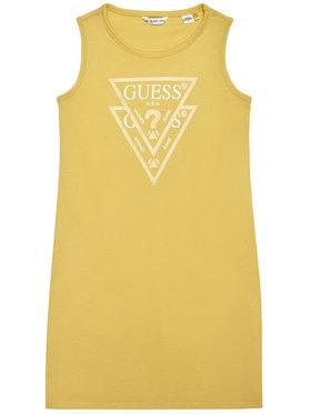 Guess Guess Kleid für den Alltag K92K31 K82F0 Gelb Regular Fit