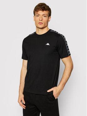 Kappa Kappa T-shirt Ilyas 309001 Nero Regular Fit