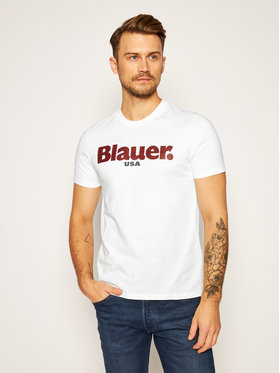 Blauer Blauer T-Shirt Monica Corta 20WBLUH02219 005788 Weiß Regular Fit