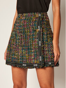 Versace Jeans Couture Versace Jeans Couture Trapézová sukně A9HZA301 Barevná Regular Fit