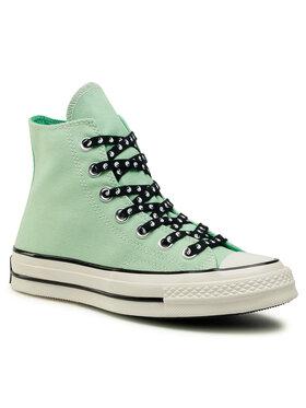 Converse Converse Sneakers aus Stoff Chuck 70 Hi 164210C Grün