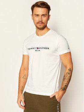 TOMMY HILFIGER TOMMY HILFIGER T-Shirt Core Logo Tee MW0MW11465 Bílá Regular Fit