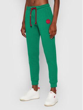 Waikane Vibe Waikane Vibe Teplákové nohavice Kaiwi Zelená Regular Fit