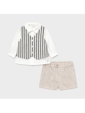 Mayoral Mayoral Комплект от риза и текстилни шорти 1213 Цветен Regular Fit