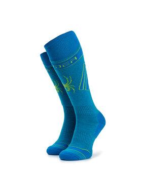 Spyder Spyder Vysoké pánske ponožky Omega Comp 198062 Modrá