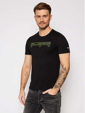 Guess Guess T-Shirt M0BI53 I3Z00 Černá Slim Fit
